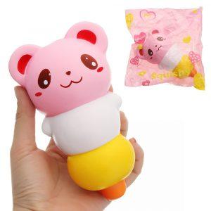 Cucurbita Squishy 15,5 * 9cm långsammare med Packaging Collection Present Soft Toy