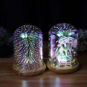 Firework Plasma Ball Led Cube Pokemon Novelty LED Lights Möbel Cup Desk Lamp