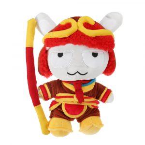 XIAOMI Red Stuffed Plush Toy Klassisk MITU Monkey King 25cm Söt Soft Soft Docka barns Bästa Present