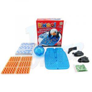 Klassisk Lotto Bingo Spelmaskin Rotary Cage Familjeparty Leksaksspel