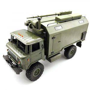 Radiostyrd RC  Militär Lastbil Bil, 4WD, Rock Crawler