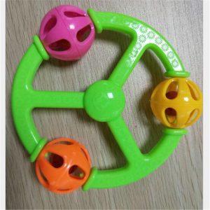 Baby Rattle Pacifies gripar Babyleksaker 0-3 år gammal Hand Rattle Leksaker