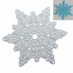 Metal Snowflake Christmas Cutting Dies DIY Scrapbooking Album Paper bild Decor