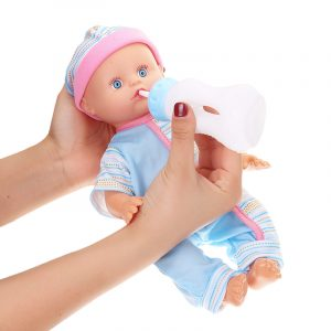 12Inches Lifelike Baby Dockas Smart With Sounds Drinking Water Baby Action Figur Toy