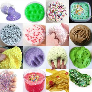 Mini Fancy Slime Laboratory Kit Gör din egen barns Gloop DIY Science Leksaker Present