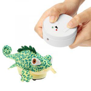 RC Fjärrkontroll DjurPlush Kameleon Pet Elektrisk Infraröd Sensor Simulering Tonic Present