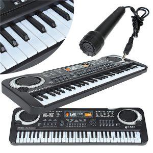 61 Tangenter Musik Elektronisk Tangentbord Tangentbord Barn Present Elektrisk Piano Organ