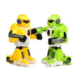 2st RC Intelligent lådaing Battle Robot med ljus och musik