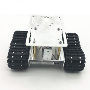 DIY RC Robot Chassis Tank Car Tracking Hindring Undvik Med Crawler Set