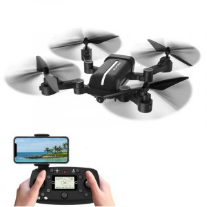 BAYANGLeksaker X30 GPS 5G WiFi 1080P FPV med 8MP HD-kamera Följ mig Foldbar RC drönare Quadcopter RTF