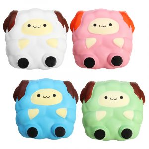 Squishy Jumbo Sheep Lamb 12cm Sweet Soft Slow Rising Collection Present Decor Toy