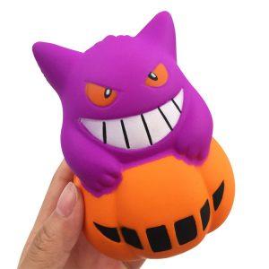 Gigglebröd Halloween Pumpkin Squishy 11 * 8.5 * 8CM Licensierad Slow Rising With Packaging