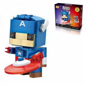 142st Super Hero Diamond Byggklossar Små tegelstenar Leksaker