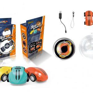 Hobby Leader Julklapp Höghastighets bil Crazy Spinner 360 ° Spinning Med Blinkande Ljus Nyhet Leksaker