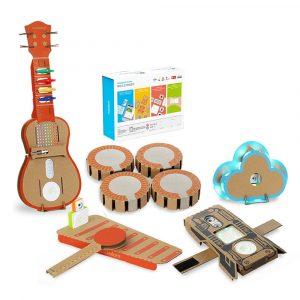 6 i 1 Makeblock STEAM RC Robot Leksaker Pedagogiska Present Trum Ukulele Armband Cloud Xylofon