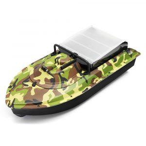 Jabo 2AG 620mm 2.4G Fiske Bait Rc Båt GPS Beidou Navlgation W / Double 380 Motor LED Ljus Toy