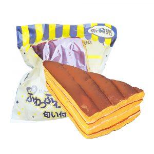Squishy Sandwich Brödkaka 12cm Mjukt Långsam Rising Med Packaging Collection Gift Toy