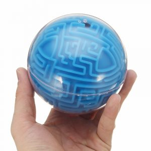 3D Labyrinth Labyrint Labyrint Ball Leksaker Pussel Spår Speed ​​Balance Finger Rolling Ball Intelligence Game Toy