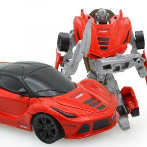 Mini Deformation Robot bils Fordon Deformerad Action Figur Truck Modell Leksaker För Barn Barn Present