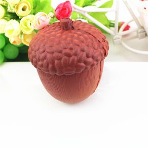 Squishy Acorn 11cm Soft Slow Rising Gullig Kawaii Collection Gift Decor Toy