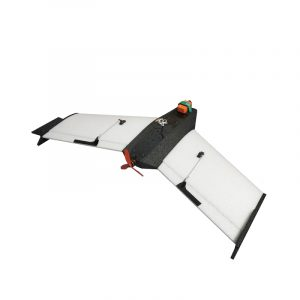 CK Wing EPP Carbon Fiber 840mm Wingspan Triangle Wing RC Flygplan Kit endast för FPV Racing Kompatibel F3 / F4