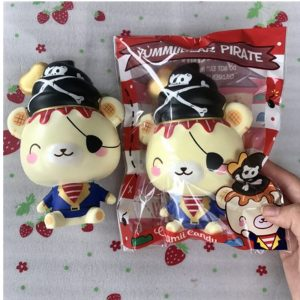 Yummiibear Creamiicandy Pirate Squishy Slow Rising Toy med Original Packing Gift Collection