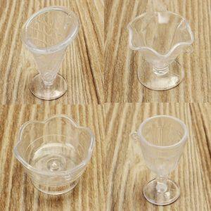 Nya DIY Mini Cup Ice Cream Saints Cup Creamy Tile Cups Koppar Sticky Mini Plastic Gadgets
