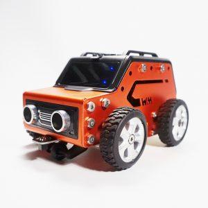 WeeeMake WeeeBot Mini Smart RC Robot Bil Infraröd APP Control Programmerbar Hindring Undvik Robot Car