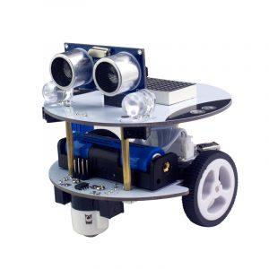 Xiao R DIY Qbot Scratch / Arduino 2 I 1 APP Kontrollprogrammering Robot Car Set