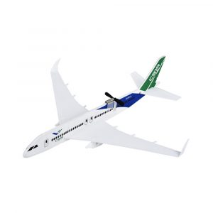 C919 350mm Wingspan Intelligent Inbyggd kondensator Electric Free Flying RC Flygplansmodell