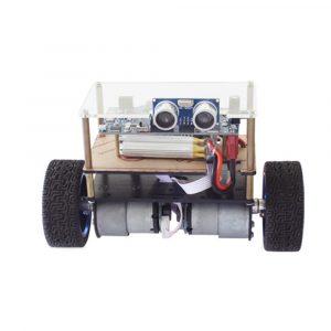 DIY STM32 Balans Smart RC Robot Bil APP Control Hindring Undvik Robot Car