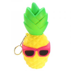 Squishy Cool Ananas 16cm Långsam Rising Soft Squeeze Collection Gift Decor Toy