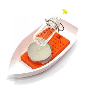 Amazing Steam Steam Candle Powered Speedboat Vetenskapliga Experimentella Leksaker För Barn Barn