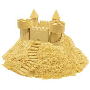 100g DIY Light Spela Sand Colorful House Play Leksaker för barn
