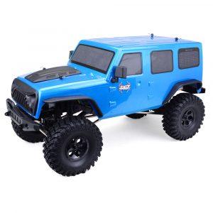 RGT EX86100 1/10 2.4G 4WD 510mm Borstad Rc Bil Offroad Monster Truck Rock Crawler RTR Toy