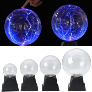 4/5/6/8 tum Plasma Ball Sphere Light Crystal Light Magic Skrivbordslampa Novelty Light Home Decor
