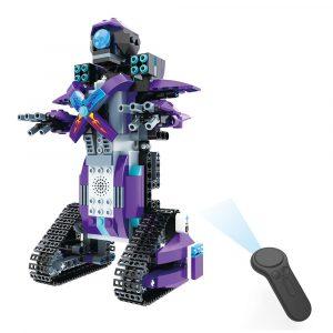MoFun M3 2.4G 4CH DIY Byggblock Fjärrkontroll Smart Robot Toy