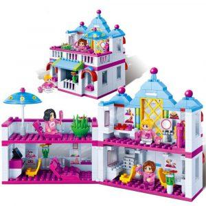Byggnad Blocks Leksaker Skönhet Hårsalong Tegelstenar Leksak 6111 Kompatibel med Legoe För Flicka