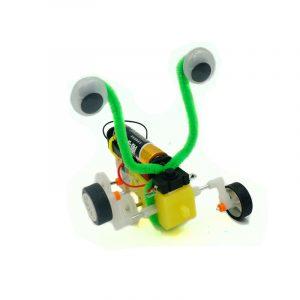 DIY Krypande Robot Kreativ Pedagogisk Vetenskaplig Uppfinning Leksaker  Kits för Unge