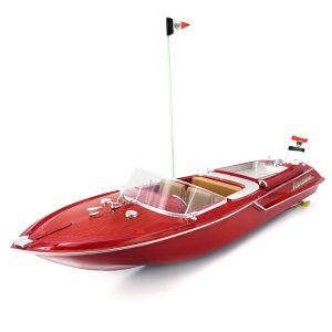 Flytec HQ2011-1 46CM 27MHZ 4CH 15KM / H High Speed Racing RC Båt