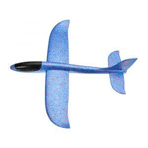 5PCS Wholesale Plane Toy 48cm Stor Storlek Hand Starta Kasta Flygplan Flygplan Glider DIY Tröghetsskum EPP