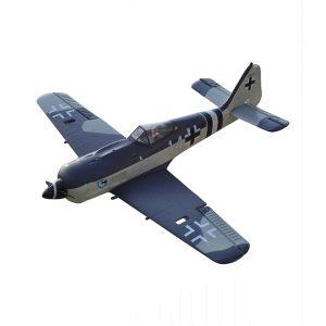 FW-190 643mm Wingspan EPO High-Speed Racing RC Warbird flygplan PNP