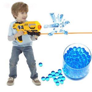 40.000PCS 7-8mm Gel Balls Ammokristall Vattenpärlor Gel Toy