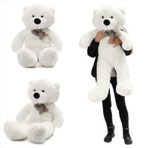 "140cm / 55 ""Inch Semi-Finished Giant Stora Unstuffed Teddy Bear Skin Skal Skinn Kid Baby Plysch Leksaker"