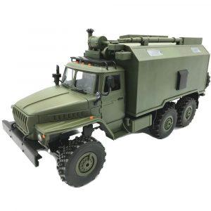 Radiostyrd RC  Militär Lastbil, 6WD,Rock Crawler med Command Kommunikation