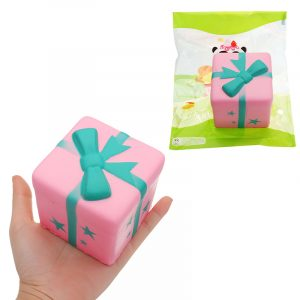 GiggleBread Gift Bread Squishy 7,5 * 7cm långsammare med Packaging Collection Gift Soft Toy