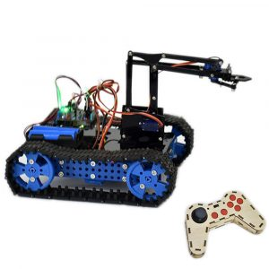 DIY Arduino STEAM Programmerbar Smart RC Robot Car Arm Tank Utbildnings Kit