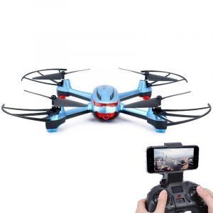 Dowellin Leksaker X20 720P WIFI FPV Med 2MP vidvinkel HD-kamera Höghållarläge RC Drone Quadcopter RTF