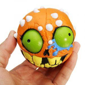 Cartoon Style Ficka Cube Fidget Skull Second Order Fidget Cube Reducera Stress Gift Nöje Barn Vuxna Leksaker