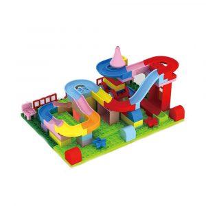 78st / Uppsättning Stor Storlek Blocks Leksaker creat Kraft Stjärna Järnvägsspår Unge utvecklings~~POS=TRUNC Byggnad Leksak Gåva